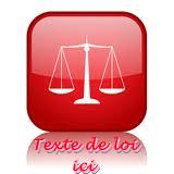 texte de loi